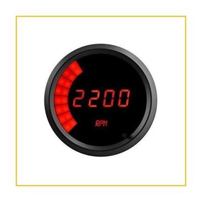 <送料無料*新品・未使用品*>Intellitronix M9001R 3-3/8 LED Digital Tach 0-9900 rpm Torch Red Black Bezel