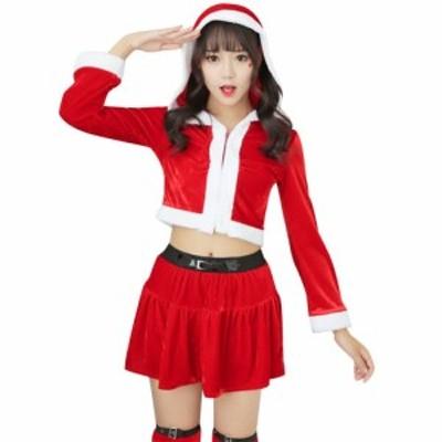 サンタコス サンタワンピース サンタ コスプレ サンタクロース 衣装 サンタ クリスマス レディース ワンピース 女の子用 パーティー かわ