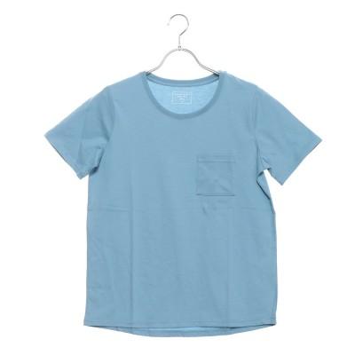 イグニオ IGNIO レディース 半袖Tシャツ USAコットンベーシックTシャツ(半袖) LUSAコットンポケTSS