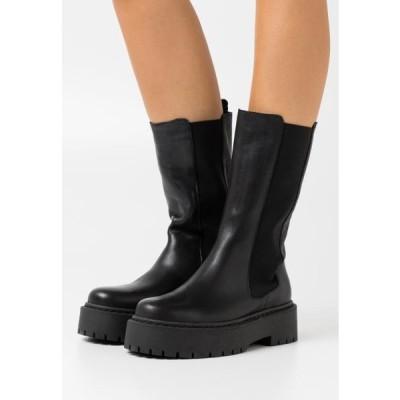 ビアンコ レディース 靴 シューズ BIADEB - Platform boots - black