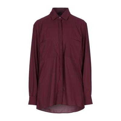 アレッサンドロデラクア ALESSANDRO DELL'ACQUA シャツ ディープパープル 40 ポリエステル 97% / ゴム 3% シャツ