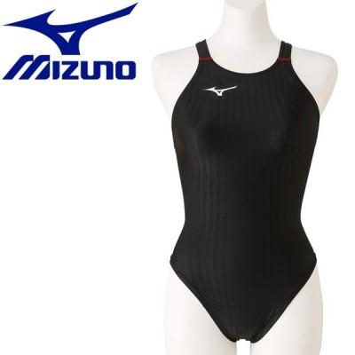 ミズノ スイム 競泳用ハイカット レースオープンバック レディース N2MA022296