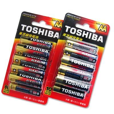 東芝TOSHIBA 持久型鹼性電池 AA (3號20顆入)