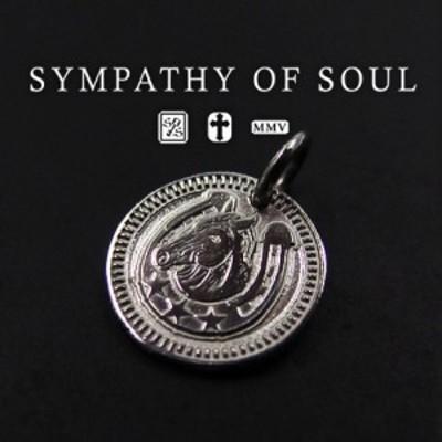 シンパシーオブソウル コインチャームシルバーネックレス Ever Fortune Coin Charm - Silver  メンズ レディース ユニセックス sympathy
