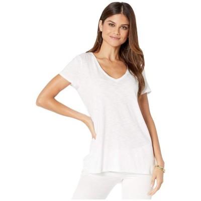 リリーピュリッツァー Lilly Pulitzer レディース Tシャツ トップス etta top Resort White