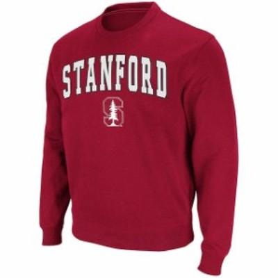 Stadium Athletic スタジアム アスレティック スポーツ用品  Stadium Athletic Stanford Cardinal Cardinal Arch & Logo Crew Pullover S