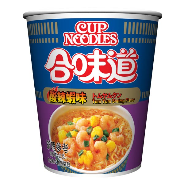 NISSIN日清 合味道酸辣蝦味杯麵(74g)
