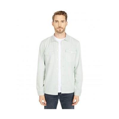 AllSaints メンズ 男性用 ファッション ボタンシャツ Spotter Long Sleeve Shirt - Thyme Green