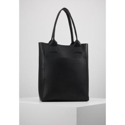 エブンアンドオッド レディース トートバッグ バッグ Tote bag - black black