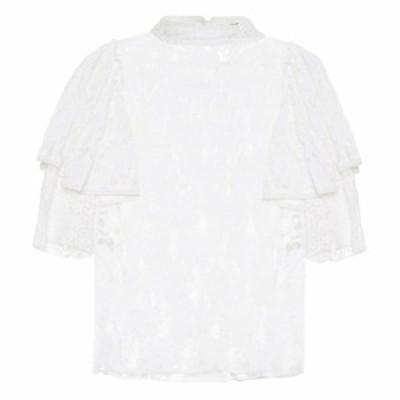 イザベル マラン Isabel Marant. Etoile レディース ブラウス・シャツ トップス Vetea cotton lace blouse White