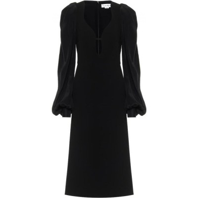 ヴィクトリア ベッカム Victoria Beckham レディース パーティードレス ミドル丈 ワンピース・ドレス Cady Midi Dress Black