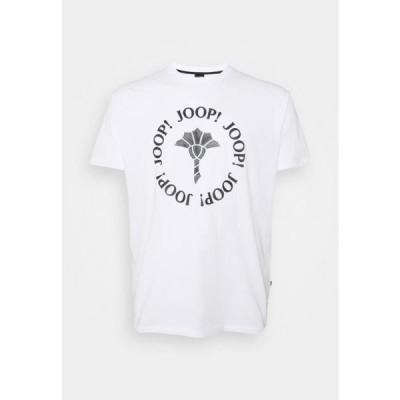 メンズ ファッション ABRAMO - Print T-shirt - white