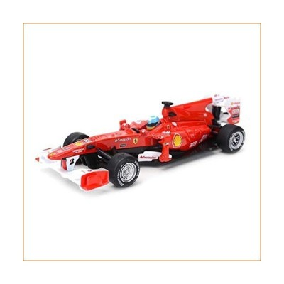 Die-Cast Vehicles Car Model Scale 1:32 / Compatible with Ferrari F10 Alonso No. 8 2010 / Static Car Model Classic Sports Car Model Simulatio
