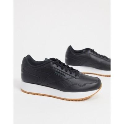 リーボック レディース スニーカー シューズ Reebok Classics Harman Run sneakers in black & true gray
