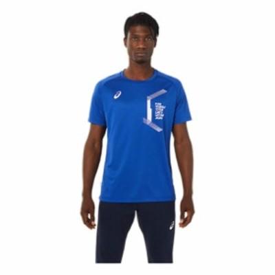 LIMO ショートスリーブトップ ASICS アシックス SAトレ-ニング Tシャツ ポロシャツ (2031c653-401)