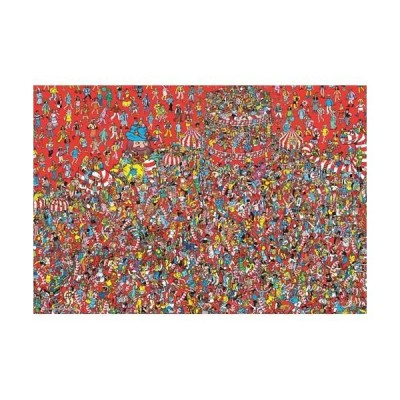 ジグソーパズル 150ラージピース Where's Wally? アニバーサリーボール フォー ジャパン L74-174 4977524741749