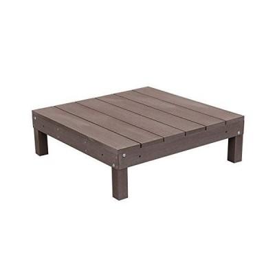 アイウッドデッキ1点ダークブラウン igarden アイガーデンオリジナル人工木ウッドデッキ、ウッドデッキセット、木製デッキ、縁台i1036