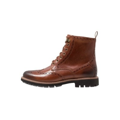 クラークス ブーツ&レインブーツ メンズ シューズ BATCOMBE LORD - Lace-up ankle boots - dark tan