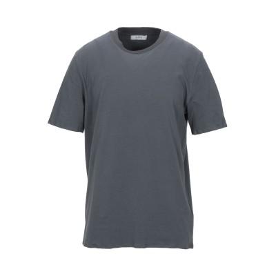 アルファスタジオ ALPHA STUDIO T シャツ 鉛色 52 コットン 92% / ポリウレタン 8% T シャツ