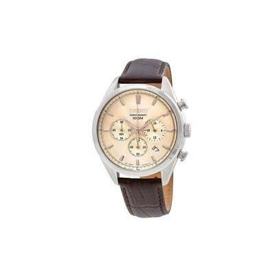 セイコー SEIKO 男性用 腕時計 メンズ ウォッチ クロノグラフ クリーム SSB293P1