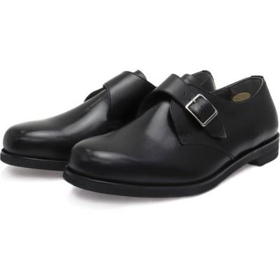 BLACK  ビジネスシューズ 27cm 27.5cm 28cm 28.5cm 29cm 30cm メンズ 大きいサイズ 幅広6E ビジネスシューズ BLACK (ブラック・レザー)