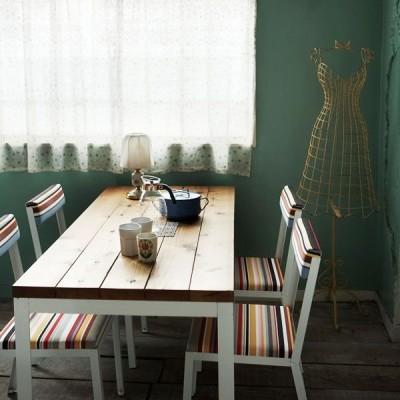 ダイニングテーブル 北欧 無垢材 カフェ ミッドセンチュリー リビングテーブル 木 西海岸 家具 SWITCH