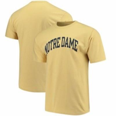 Champion チャンピオン スポーツ用品  Champion Notre Dame Fighting Irish Gold Basic Arch T-Shirt