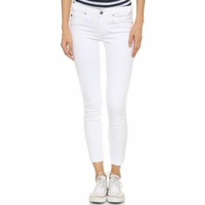 エージー AG レディース ジーンズ・デニム ボトムス・パンツ Legging Ankle Jeans White