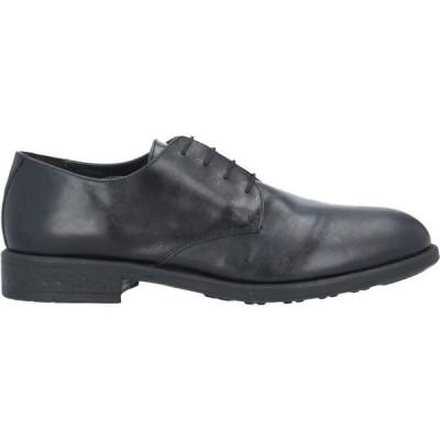 オフィチーナ トレンタ セイ OFFICINA 36 メンズ シューズ・靴 laced shoes Black