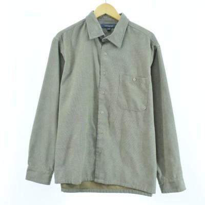 cloft&barrow 長袖 フェイクスエードシャツ メンズL /eaa059092