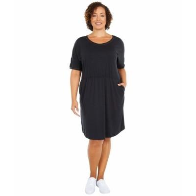 コロンビア ワンピース トップス レディース Plus Size Slack Water Knit Dress Black