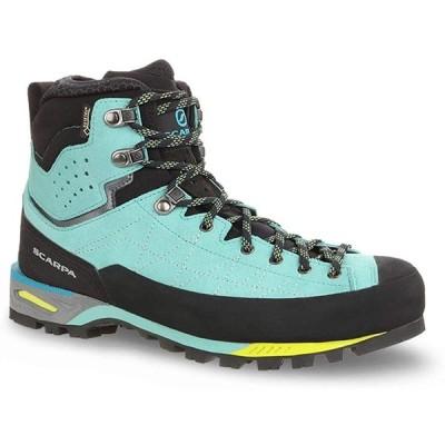 SCARPA Women's Zodiac Tech GTX Mountaineering Boot Green Blue - 40.5