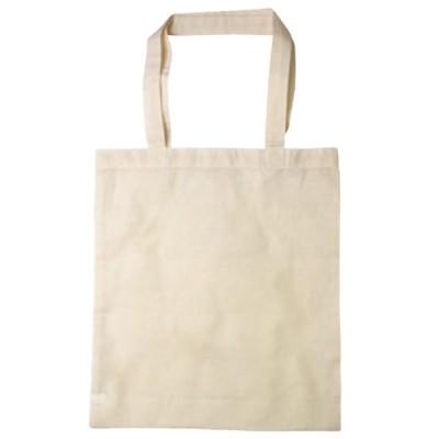 ヌノデコ コットンバッグ きなり 1個入 【 15-278 】【ゆうパケット対応】
