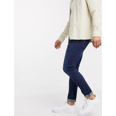 リバーアイランド River Island メンズ ジーンズ・デニム ボトムス・パンツ Skinny Jeans In Dark Blue ダークブルー
