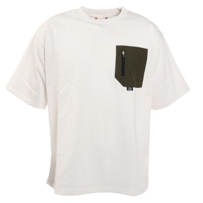 パワートゥーザピープルピュアドライエコポケットTシャツ T512111-06 OFFホワイトM