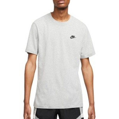 ナイキ メンズ シャツ トップス Nike Men's Sportswear Club T-Shirt Dark Grey Heather