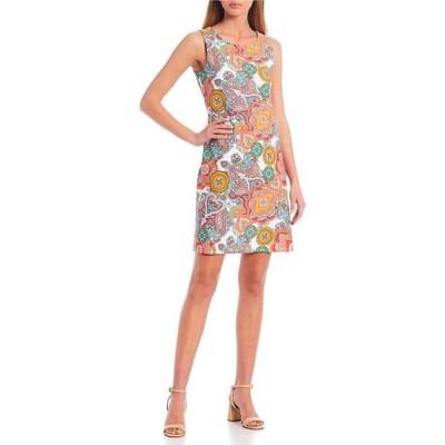 ジュードコーナリー レディース ワンピース トップス Beth Sleeveless Jewel Neck A-Line Dress