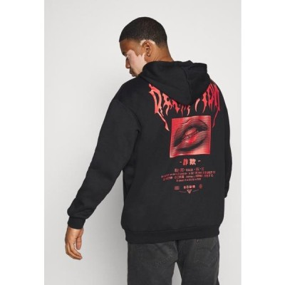 ピアワン メンズ ファッション Hoodie - black