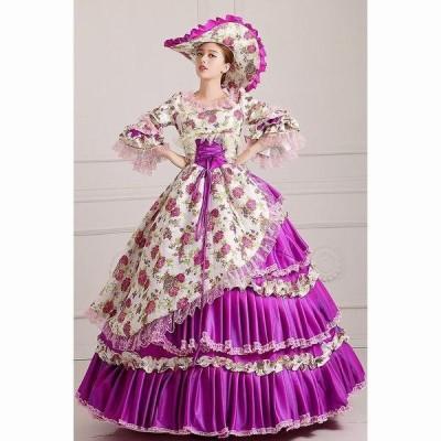 貴族 服 小さいサイズ 大きいサイズ 豪華な女王 パーティードレス ウェディングドレス パニエ追加可da558f0f0q2