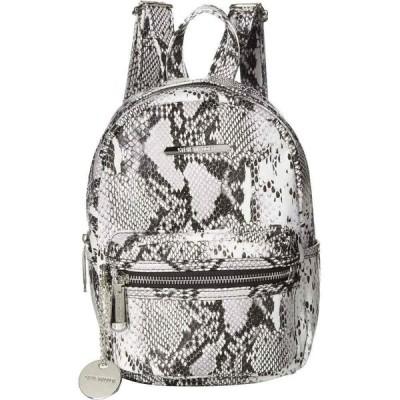 スティーブ マデン Steve Madden レディース バックパック・リュック バッグ Bbailey PVC Backpack Black/White