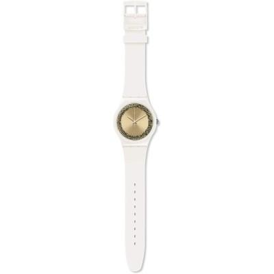 [スウォッチ] 腕時計 SPARKLELIGHTENING スパークルライティング NEW GENT ニュー・ジェント SUOW168 正規輸入品 ホワイト 並行輸入品