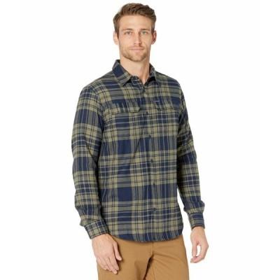 コロンビア シャツ トップス メンズ Silver Ridge 2.0 Flannel Stone Green Flannel