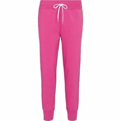 ラルフ ローレン Polo Ralph Lauren レディース スウェット・ジャージ ボトムス・パンツ Cotton-blend fleece sweatpants Peony