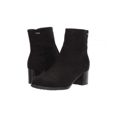ara アラ レディース 女性用 シューズ 靴 ブーツ アンクルブーツ ショート Fauna - Black Hydro Scala