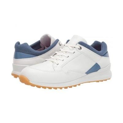 ECCO Golf エコー ゴルフ レディース 女性用 シューズ 靴 スニーカー 運動靴 Street Retro Hydromax(R) - White