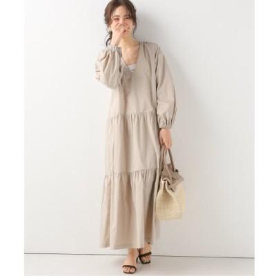 【スピック&スパン/Spick & Span】 【KALLMEYER】 3 Tiered Puff Sleeve Dress