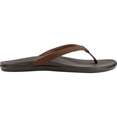 オルカイ OluKai レディース サンダル・ミュール シューズ・靴 Ho'opio Sandals Dark Java/Dark Java