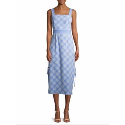 ダイアンフォンファステンバーグ レディース ワンピース Check Print Midi Dress