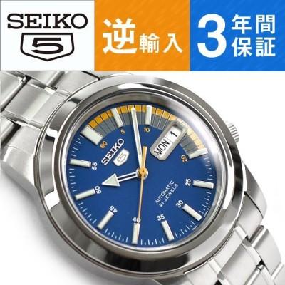 逆輸入 SEIKO5 自動巻き機械式 メンズ 腕時計 SNKK27K1