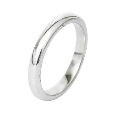 新宿銀の蔵 幅3mm 甲丸 細身 シルバー 925 リング 5〜21号 (15号) 指輪 シンプル silver925 sv925 銀